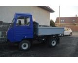 Vozidlo Multicar M25 3-stranný sklápač po GO