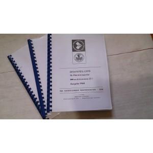 Katalog náhradných dielov M22