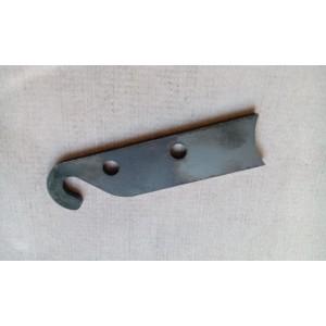 Opravný plech pedálu spojky a páky zapínania hydrauliky