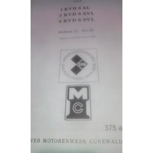 Dielenská príručka Multicar M22 a RS09