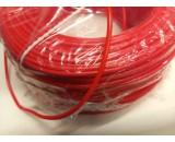 Kábel 1x1,5 mm červený